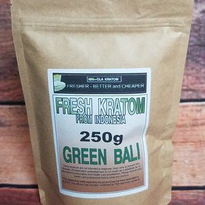 Kratom~ Green Bali 250 grams| Lab Tested